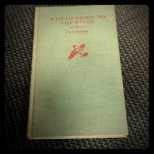 Vintage Peterson A field guide to birds